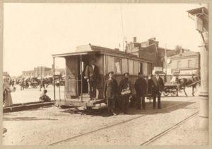 Трамвайный диспетчеркий пункт на Рогожской заставе, 1924 год
