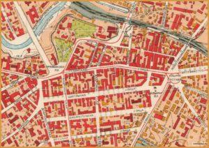 Карта 1952-го года